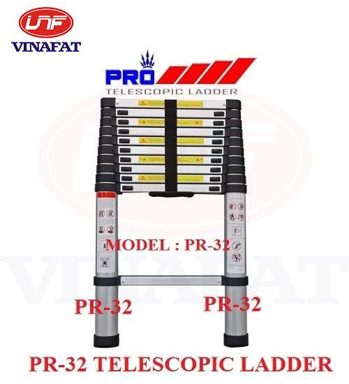Thang nhôm Pro Telescopic Ladder Pr-32