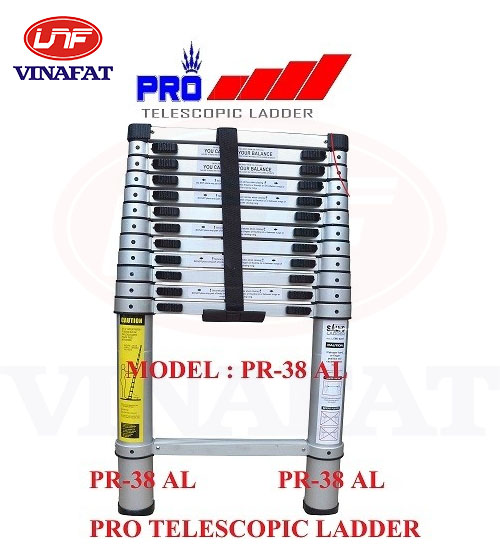 Thang nhôm Pro Telescopic Ladder Pr-38AL