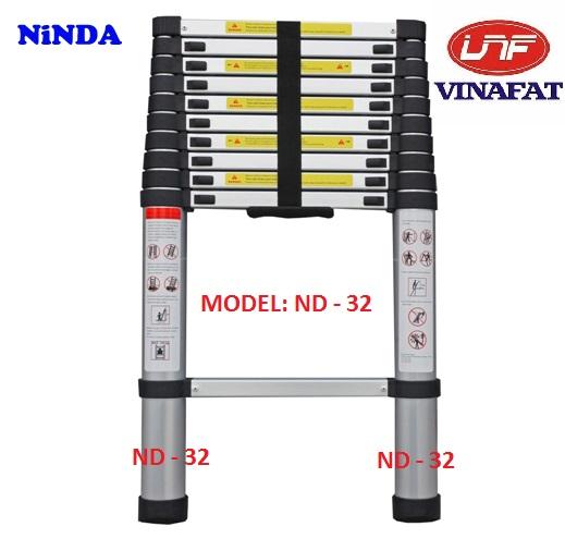 Thang nhôm rút gọn Ninda ND-32