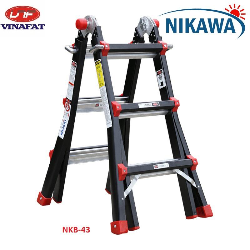 Thang nhôm gấp đa năng Nikawa NKB-43