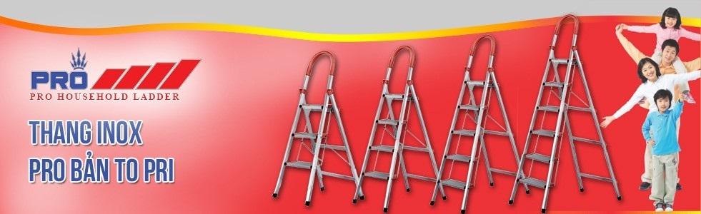 Thang nhôm Pro Telescopic Ladder