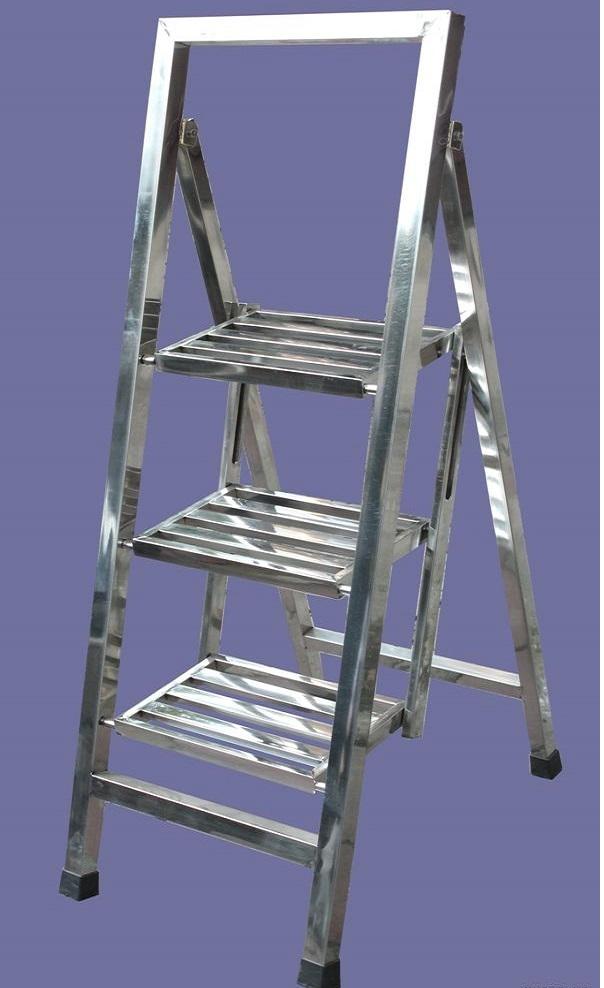 Thang ghế Inox 3 bậc