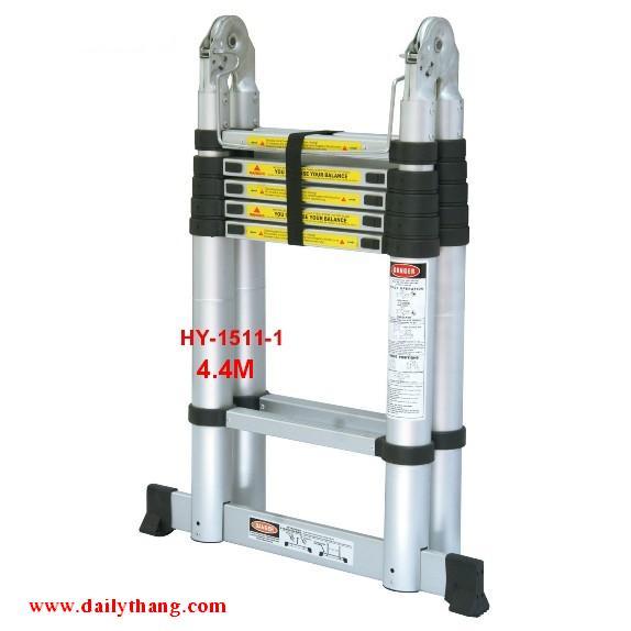 Thang nhôm Salvo HY-1511-1B (4.4M) đai nhựa
